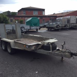 Ifor Williams GH1054 BT Plant Trailer c/w Spare Wheel