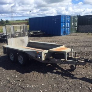 Ifor Williams GX 84 Plant trailer