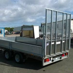 Ifor Williams LM146 c/w ramp tail, removable sides and spare wheel