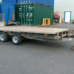 Ifor Williams LT16 tilt bed trailer