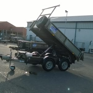 Ifor Williams TT2515 Electric Tipper complete with Ladder rack and spare wheel