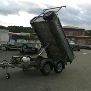Ifor Williams TT2515 electric tipper complete with drop sides, ladder rack and spare wheel