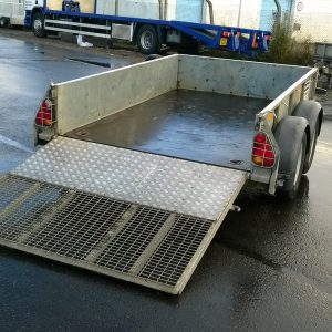 Ifor Williams GD85 Goods trailer c/w spare wheel
