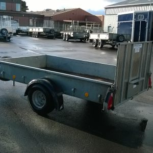 Ifor Williams P8e complete with ramp and spare wheel