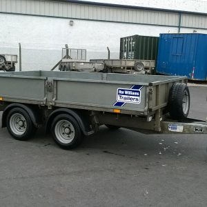 Ifor Williams LM105g complete with removable drop sides and spare wheel