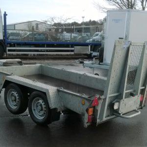 Ifor Williams GH94bt Plant trailer C/w spare wheel
