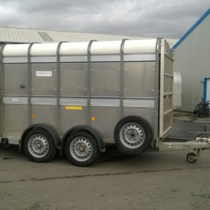 Ifor Williams TA5G 10 x 6 stock box complete with sheep decks , cattle division , sump tank kit and spare wheel