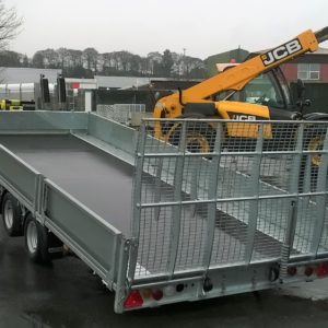 Ifor Williams TB5021-353 Tri Axle Tilt bed trailer, unused only 3mth old, comes complete with S5500 electric Superwinch complete with battery and remote control, spare wheel, also set of drop sides from customers previous trailer. Save £1000 on new trailer price