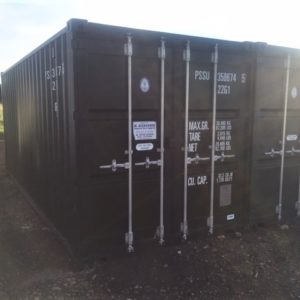 EX Self Store 20ft x 8ft Containers only a few months old, 3 available, Save £250.00 + Vat on new