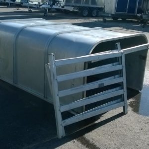 Ifor Williams P6 Livestock Canopy , Complete with loading gates and rear guard rail. call for more details
