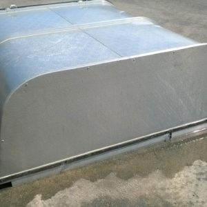 Isuzu Dmax Double Cab Canopy. Fits new style Isuzu, Complete with gas struts on rear door, in very good condition. Has never been fitted to vehicle. Cost new £650.00 + Vat. Selling on behalf of customer, Please call for more details
