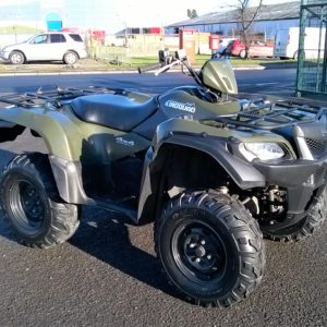 2014 Suzuki King Quad 500cc 4x4 Fully automatic with high & low 4x4, in very good condition, must be seen