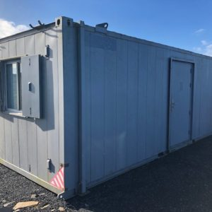 24ft x 11ft Office or Bunkbed Cabin, Very clean, complete with Toilet and shower. For more details contact Mark on 07710 637078
