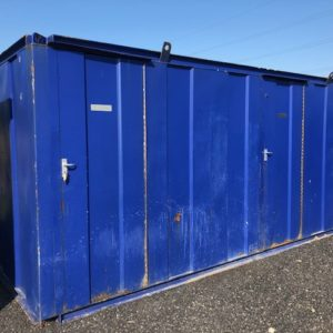 18ft x 8ft Toilet block For further details call Mark on 07710 637078
