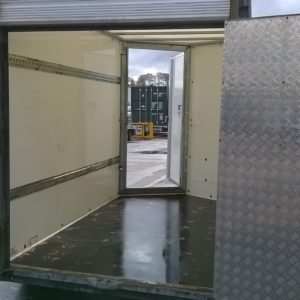 Ifor Williams BV85 Box van 6ft headroom, 2700kg, Reg date June 2017, complete with front access door , rear combi ramp/van doors and spare wheel , fully serviced by our workshop and ready to work. for further details call Mark on 07710 637078