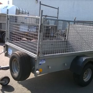 Ifor Williams P6e Trailer, 750kg, Reg date TBC, 6ft x 4ft ramptail trailer,  Complete with removable mesh sides and spare wheel. For more details call Mark on 07710 637078