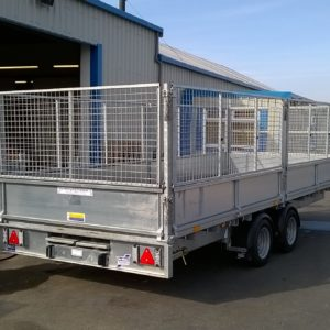 Ifor Williams LM166 Flatbed 3500kg, Reg March 2019 only 5 weeks old, this trailer comes complete with removable dropsides, full meshside kit, LED lights, 8ft steel skids, prop stands,  6 pairs of fitted lash rings, heavy duty jockey wheel and spare wheel , For further details call Mark on 07710 637078