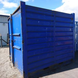 10ft x 8ft Container complete with internal shelfing