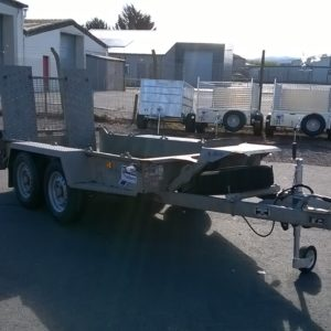 Ifor Williams GH94bt Plant Trailer, 2700kg Reg Date July 2015, Complete with Mesh ramp for easy loading and spare wheel, fully serviced by our workshop and ready to work, For further details call Mark on 07710 637078