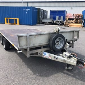 Ifor Williams LM167 Bevertail Trailer 3500kg Reg Date Jan 2012, This trailer is 7ft6 wide and 16ft long, in  good condition comes complete with headboard, small winch, steel loading ramps and lash rings, this trailer will come fully serviced by our workshop and ready to work, for further details call Mark on 07710637078