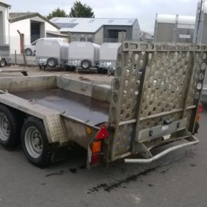 Ifor Williams GH1054 Plant Trailer 3500kg Reg Date Aug 2016, Complete with full ramp tail and bucket rest. This trailer will come fully serviced by our workshop and ready to work, For further details call Mark on 07710 637078