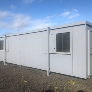 10ft x 32ft Office complete with kitchen very clean condition For further details call Mark on 07710 637078