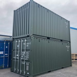 New ISO 20ft containers available , Containers for sale and hire, direct delivery from our Inverness yard