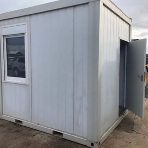10ft x 8ft Office Cabin, for further details on this and other Containers also possible delivery