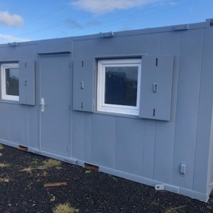 20ft x 8ft Office Block , Very clean condition comes complete with kitchen area, electric hook up etc. For further details contact Mark on 07710 637078