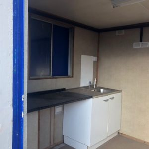 Office / Kitchen, with store , For further details on this and other containers also delivery   contact Mark on 07710 637078