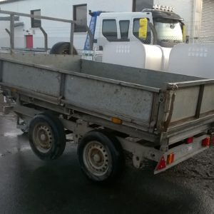 Trade in to clear Ifor Williams TT85 Hydraulic Tipper 2700kg Reg date TBC, Complete with ladder rack and spare wheel. Trade in to clear Trade Price This trailer will be sold as seen no warranty given or implied.
