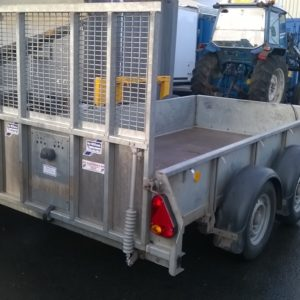 Ifor Williams GD105 Goods Trailer 2700kg Reg date Sept/17, Complete with full ramp tail and spare wheel. 