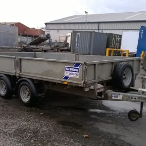 Ifor Williams LM126 Flatbed Trailer 3500kg Reg Date July 2016, comes complete with removable dropsides and spare wheel. Trade in to clear, NO warranty given or implied, For further details contact Mark on 07710 637078