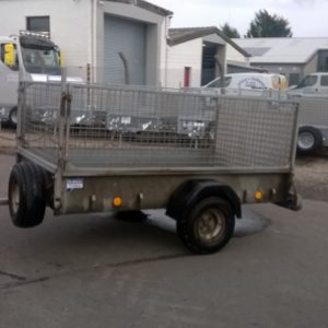 Ifor Williams P7e Trailer 750kg, Reg Date TBC  Complete with full ramp tail ,Mesh side kit and spare wheel 