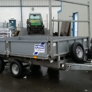 Ifor Williams LT105g Flatbed 2000kg Build Date TBC , Very good condition , complete with Removable dropsides , ladder rack and spare wheel, Fully serviced by our workshop and ready to work.  For further details contact Mark on 07710 637078