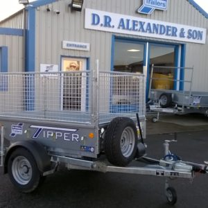 "NEW for 2020  Ifor Williams TT2012 Manual Tipping Trailer ,1500kg , Internal dimensions 4ft x 6ft 6"" comes complete with M&S Tyres and spare wheel , Jockey wheel , Propstands and rear lamp guards , Mesh side kit as shown available. For more details Contact Mark on 07710 637078"