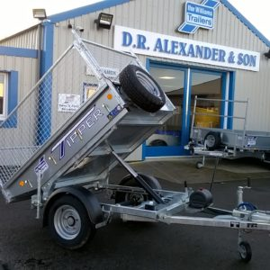 """NEW for 2020  Ifor Williams TT2012 Manual Tipping Trailer ,1500kg , Internal dimensions 4ft x 6ft 6"""" comes complete with M&S Tyres and spare wheel , Jockey wheel , Propstands and rear lamp guards , Mesh side kit as shown available. For more details Contact Mark on 07710 637078"""