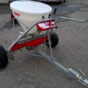 Logic LDS120DS Fertiliser / Salt Gritter. 120lt Hopper ,200kg Gross , can be towed behind quad, comes complete with swivel hitch, For further Details Contact Mark on 07710 637078