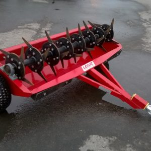 Logic TA150 Terr-ator , Soil Aerator, Comes complete with swivel coupling and ballast weights. For more details contact Mark on 07710 637078