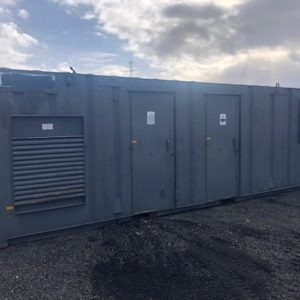 26ft Welfare unit Complete with Diesel Generator, Kitchen seating area and toilet