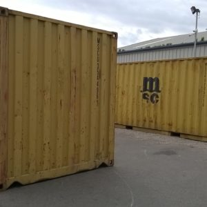 Used ISO 20ft Containers , delivery possible  for further details on these also welfare units etc Please  contact Mark on 07710 637078