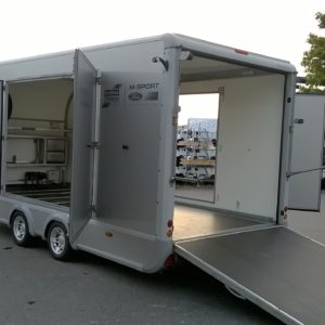 Ifor Williams CCT5221 M-Sport Transporta Trailer 3500kg Build Date TBC, M- Sport Spec ,Easy Access Tilting body complete with LED external & internal Lighting , Alloy wheels, Front Hatch, LH & R/H access hatches and side opening doors , Superwinch System, Tyre Rack, Work Bench & Spare wheel , Fully serviced by our workshop and ready to use , For further details Contact Mark on 07710 637078