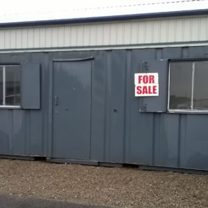 20ft x8ft Welfare Container, Complete with Security window shutters, kitchen area with Hot water , toaster and kettle, tables and chairs, Delivery possible.  For more details please contact Mark on 07710 637078