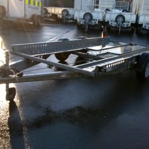 Ifor Williams CT136HD Car Transporter Trailer, 2600kg Build Date Nov 2019, Complete with LED Lights and spare wheel, this trailer will come fully service by our workshop prior to sale , for more information on this trailer please contact Mark on 07710 637078 or 01463 248268
