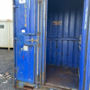 "6ft 6""ft x 9ft High container, Delivery possible 