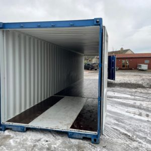 40ft ISO Container , New , Double Doors each end, for more details and possible delivery  Contact Mark on 07710 637078