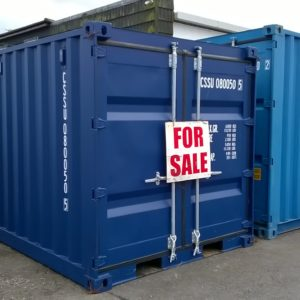8ft ISO Container , New Single use , Delivery available , for more details Contact Mark on 07710 637078