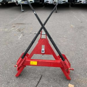 Folding bale spike. A-frame linkage ,locking pin to hold spikes folded . For further information Call Mark on 07710637078 or Sam on 07522716854