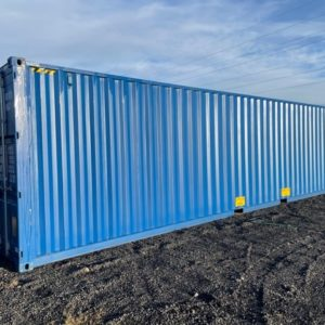 New 40ft Hi-Cube Containers available in green & blue For more details and possible delivery Contact Mark on 07710 637078