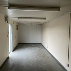 32ft x 10ft Open Plan Office complete with electric hook up fitted with lights and power points, for more information please contact Mark on 07710 637078 delivery possible